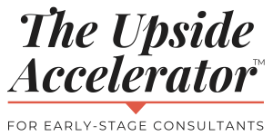 The Upside Accelerator logo